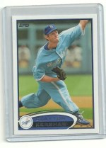 2012 Topps Series 2 Clayton Kershaw Sp Variation