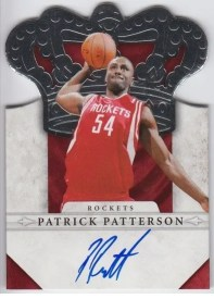 2011-12 Panini Preferred Crown Royale Autograph Patrick Patterson Card #/99