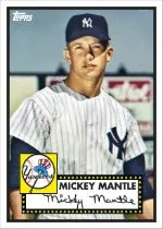 2012 Topps National Convention NSCC Mickey Mantle