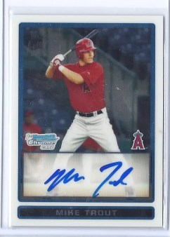 2009 Bowman Chrome Draft Picks & Prospects #BDPP89 Autograph Card
