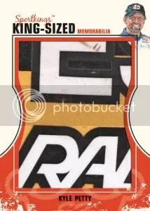 2012 Sportkings Series E King Sized Memorabilia Kyle Petty Card