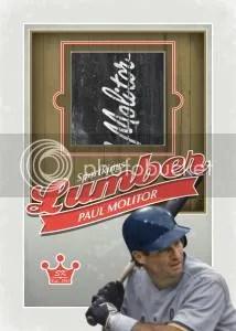 2012 Sportkings Series E Lumber Paul Molitor Card #L-06
