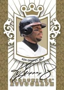2012 Sportkings Series E Ken Griffey Jr. Autograph Card