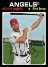 2012 Topps Archives 1971 Albert Pujols Base Angels Base Card