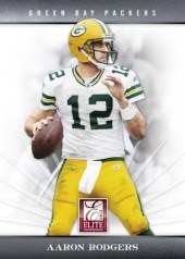 2012 Donruss Elite Aaron Rodgers Base Card