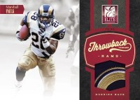 2012 Donruss Elite Marshall Faulk Throwback Threads