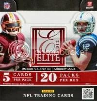 2012 Donruss Elite Football Box