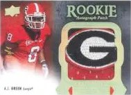 2011 Upper Deck Exquisite AJ Green