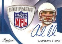 2012 Panini Father's Day Prestige Andrew Luck Patch