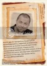 2012 Topps Allen Ginter Frank Kraft Code
