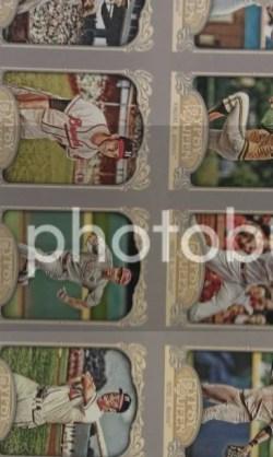 2012 Topps Gypsy Queen Base Cards Un-Cut