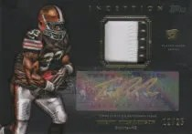 2012 Topps Inception Trent Richardson Gold Ink