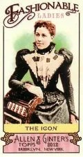 2012 Topps Allen Ginter Fashionable Ladies