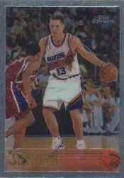 1996-97 Topps Chrome Steve Nash RC Card