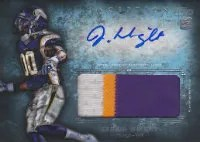 2012 Topps Inception Jumbo Auto Vikings