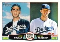 2013 Topps Heritage Then & Now