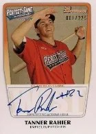2013 Bowman Tanner Rahier Perfect Game Auto