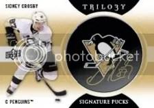 2013-14 Trilogy Signature Puck