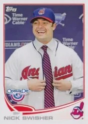 2013 Topps Opening Day #90 Nick Swisher SP