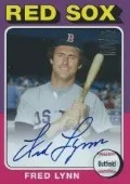 2013 Archives Fred Lynn Autograph