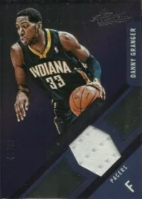 12/13 Panini Absolute Memorabilia Danny Granger Frequent Flyer Jersey Card