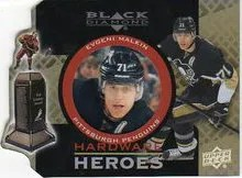 12/13 Upper Deck Black Diamond Hardware Heroes Evgeni Malkin