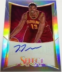 2012/13 Panini Select Tristian Thompson Autograph RC