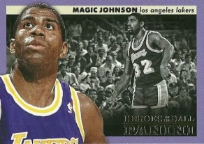 12/13 Panini Heroes of the Hall Magic Johnson