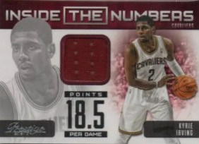 2012-13 Panini Prestige Inside The Numbers Material #32 Kyrie Irving