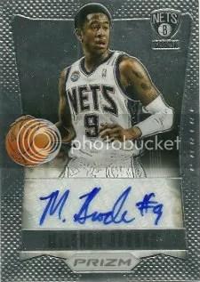 2012-13 Panini Prizm MarShon Brooks Autograph RC Card