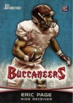 2012 Bowman Eric Page RC Card