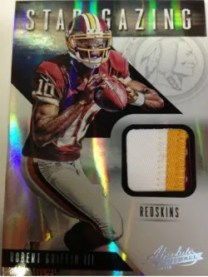 2012 Panini Absolute Memorabilia Star Gazing Robert Griffin III