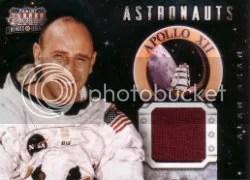 2012 Panini Americana Astronaut Jersey Cards Alan Bean