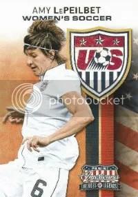2012 Panini Americana USA Womens Soccer Card