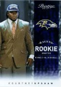 2012 Panini Prestige Football #219 Courtney Upshaw - Ravens SP