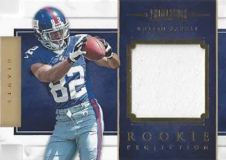 2012 Panini Prominence Rueben Randle Rookie Projection Material Card