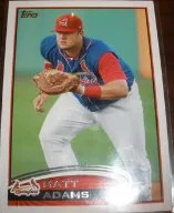 2012 Topps Pro Debut SP Photo Variation #120 Matt Adams