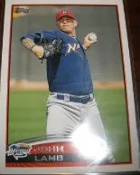 2012 Topps Pro Debut SP Photo Variation #128 John Lamb