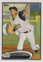 2012 Topps Pro Debut SP Photo Variation #174 Robbie Erlin