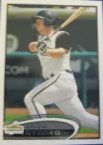 2012 Topps Pro Debut SP Photo Variation #201 Jedd Gyorko