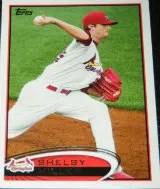 2012 Topps Pro Debut SP Photo Variation #28 Shelby Miller