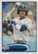2012 Topps Pro Debut SP Photo Variation #42 Mason Williams
