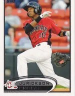 2012 Topps Pro Debut SP Photo Variation #81 Jurickson Profar
