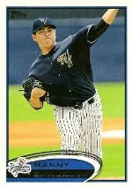 2012 Topps Pro Debut SP Photo Variation #87 Manny Banuelos