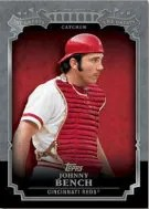 2013 Topps Series 1 Johnny Bench The Greats Insert Card
