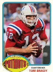 2013 Topps Archives Tom Brady Base Card