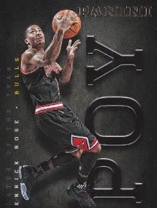 2012/13 Panini Player of the Year Derrick Rose #4