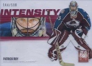 12/13 Anthology Intensity Patrick Roy