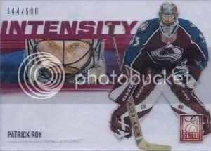 12/13 Anthology Intensity Patrick Roy