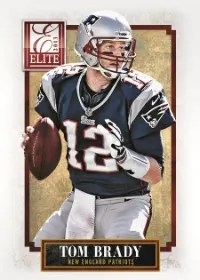 2013 Donruss Elite Football Tom Brady Base Card